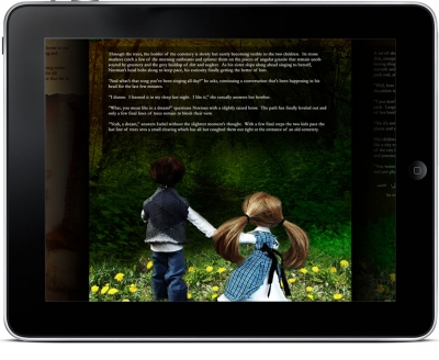 Ravens & Rhyme iPad app interior